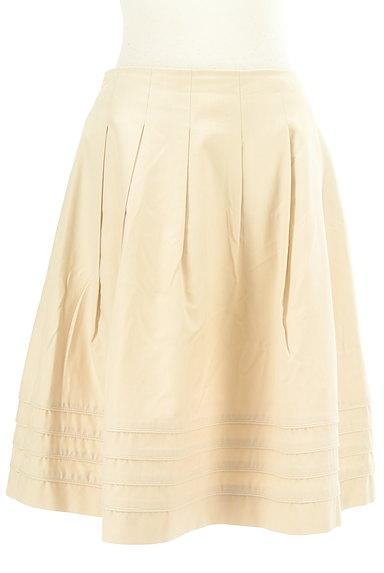 M-premier(エムプルミエ)の古着「タックフレア膝丈スカート(スカート)」大画像1へ