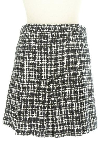 VICKY(ビッキー)の古着「モノトーンチェックミニスカート(ミニスカート)」大画像2へ