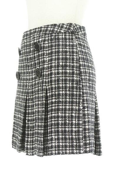 VICKY(ビッキー)の古着「モノトーンチェックミニスカート(ミニスカート)」大画像3へ