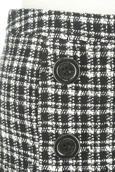 VICKY(ビッキー)の古着「モノトーンチェックミニスカート(ミニスカート)」大画像4へ