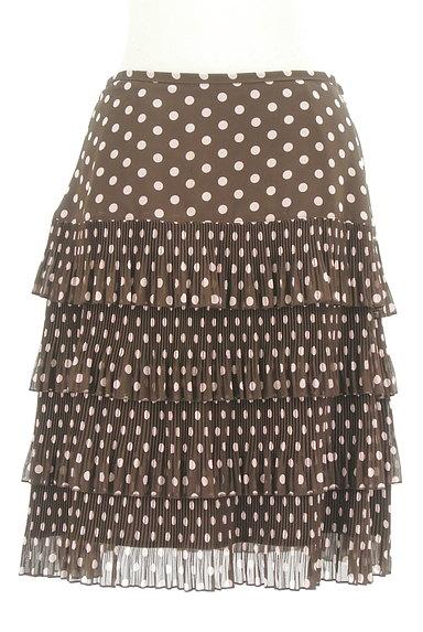 MISS J(ミスジェイ)の古着「ティアードドット柄スカート(スカート)」大画像1へ