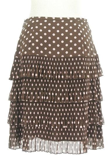 MISS J(ミスジェイ)の古着「ティアードドット柄スカート(スカート)」大画像2へ