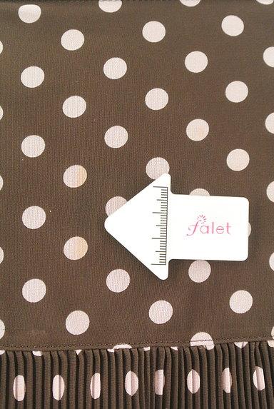 MISS J(ミスジェイ)の古着「ティアードドット柄スカート(スカート)」大画像5へ