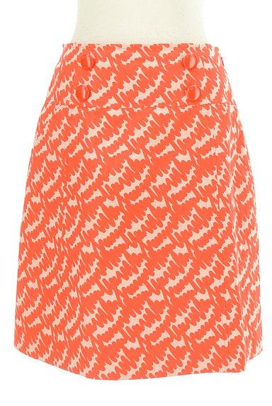 MISS J(ミスジェイ)の古着「カラー総柄セミタイトスカート(スカート)」大画像1へ