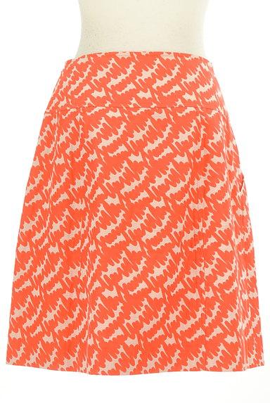 MISS J(ミスジェイ)の古着「カラー総柄セミタイトスカート(スカート)」大画像2へ