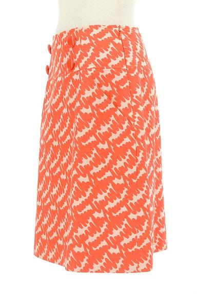 MISS J(ミスジェイ)の古着「カラー総柄セミタイトスカート(スカート)」大画像3へ