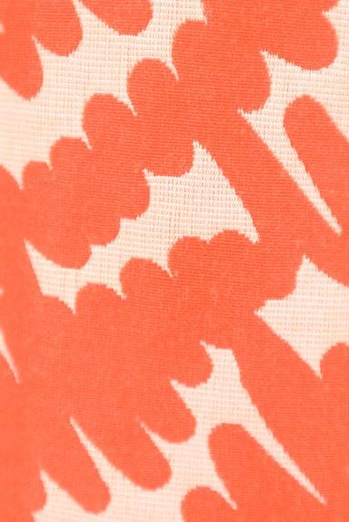 MISS J(ミスジェイ)の古着「カラー総柄セミタイトスカート(スカート)」大画像5へ