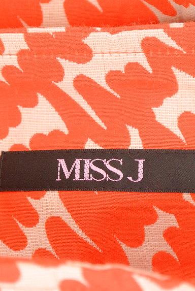 MISS J(ミスジェイ)の古着「カラー総柄セミタイトスカート(スカート)」大画像6へ
