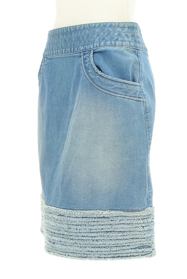 MISS J(ミスジェイ)の古着「裾フリンジ台形スカート(スカート)」大画像3へ