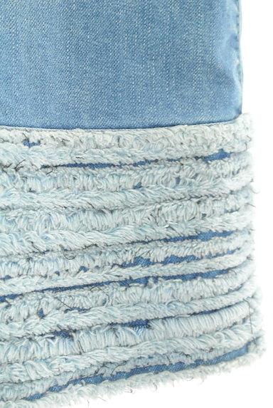 MISS J(ミスジェイ)の古着「裾フリンジ台形スカート(スカート)」大画像5へ