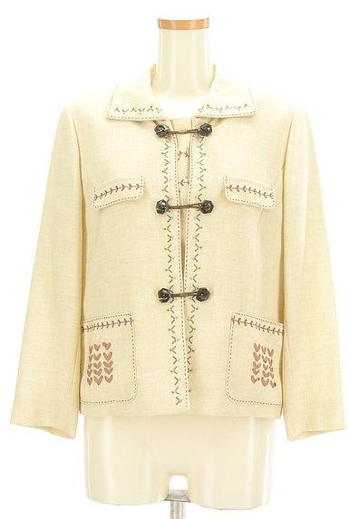 LEILIAN(レリアン)の古着「インナー付き刺繍ジャケット(ジャケット)」大画像1へ