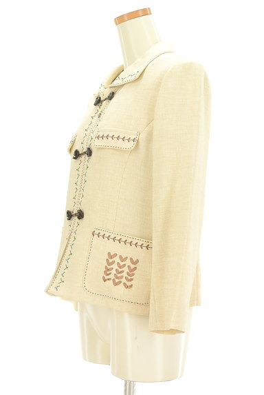 LEILIAN(レリアン)の古着「インナー付き刺繍ジャケット(ジャケット)」大画像3へ