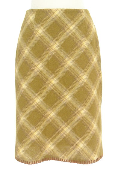 KEITH(キース)の古着「チェック柄タイトスカート(スカート)」大画像1へ