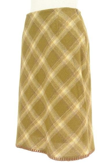KEITH(キース)の古着「チェック柄タイトスカート(スカート)」大画像3へ