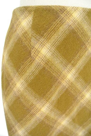 KEITH(キース)の古着「チェック柄タイトスカート(スカート)」大画像4へ