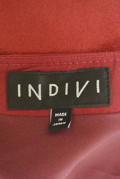 INDIVI(インディヴィ)の古着「スウェード風フレアスカート(スカート)」大画像6へ