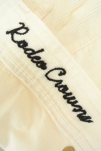 RODEO CROWNS(ロデオクラウン)の古着「ホワイトコーデュロイショーパン(ショートパンツ・ハーフパンツ)」大画像6へ