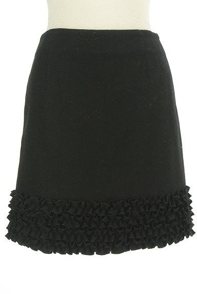 m's select(エムズセレクト)の古着「裾フリル台形ミニスカート(ミニスカート)」大画像1へ
