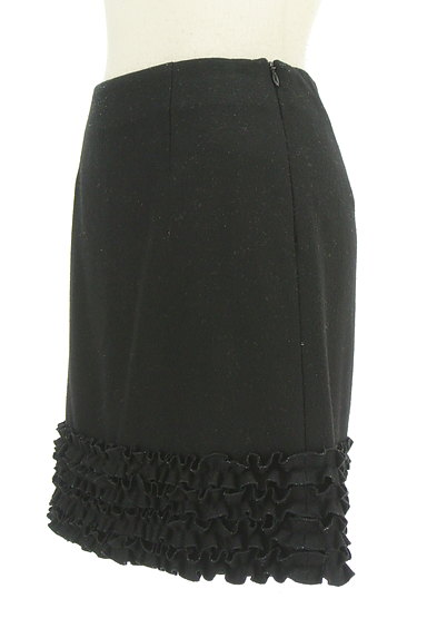 m's select(エムズセレクト)の古着「裾フリル台形ミニスカート(ミニスカート)」大画像3へ