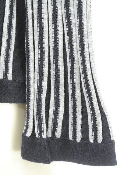 NARA CAMICIE(ナラカミーチェ)の古着「フレアストライプカーディガン(カーディガン・ボレロ)」大画像5へ