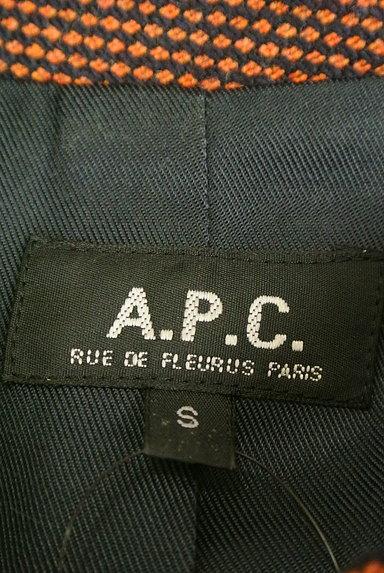 A.P.C.(アーペーセー)の古着「シンプルロングコート(コート)」大画像6へ