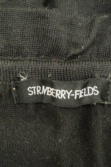 STRAWBERRY-FIELDS(ストロベリーフィールズ)の古着「ギャザーリボンニットトップス(ニット)」大画像6へ