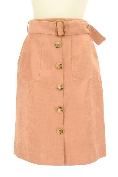 RD ROUGE DIAMANT(アールディー ルージュ ディアマン)の古着「カラーコーデュロイタイトスカート(スカート)」大画像1へ