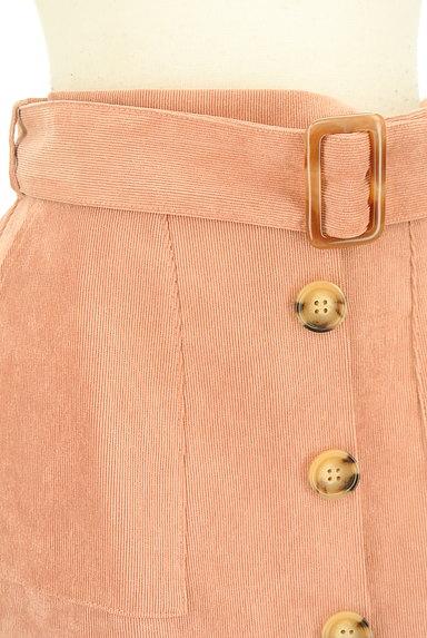 RD ROUGE DIAMANT(アールディー ルージュ ディアマン)の古着「カラーコーデュロイタイトスカート(スカート)」大画像4へ