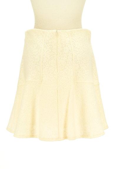 Te chichi(テチチ)の古着「総レースフレアニットスカート(ミニスカート)」大画像2へ