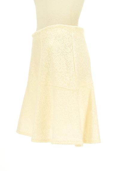 Te chichi(テチチ)の古着「総レースフレアニットスカート(ミニスカート)」大画像3へ