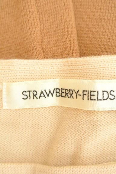 STRAWBERRY-FIELDS(ストロベリーフィールズ)の古着「ボーダー切替ニットワンピース(ワンピース・チュニック)」大画像6へ