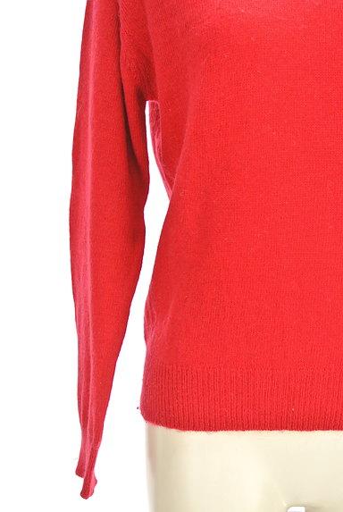 MOUSSY(マウジー)の古着「Vネックカラーニットトップス(セーター)」大画像5へ