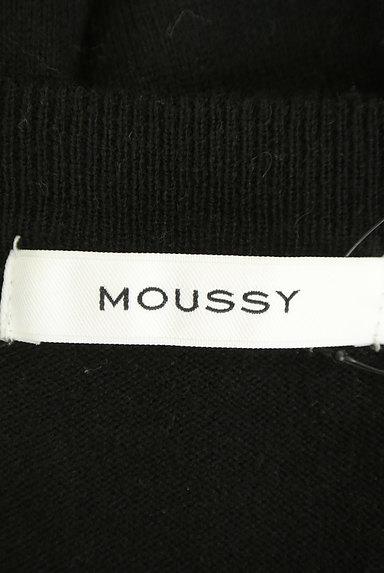 MOUSSY(マウジー)の古着「パフスリーブニットワンピース(ワンピース・チュニック)」大画像6へ