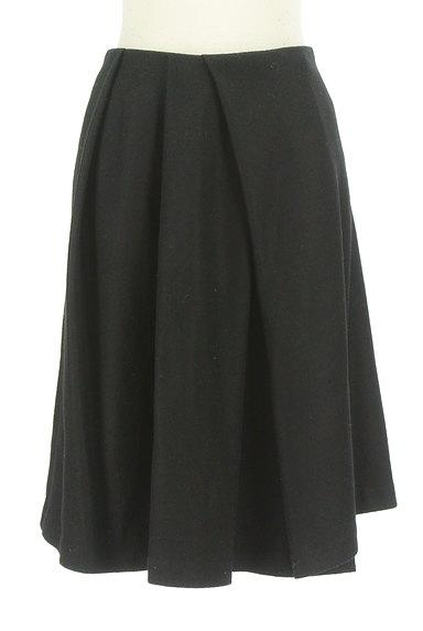 STRAWBERRY-FIELDS(ストロベリーフィールズ)の古着「シンプルタックフレアスカート(スカート)」大画像1へ