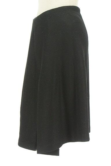STRAWBERRY-FIELDS(ストロベリーフィールズ)の古着「シンプルタックフレアスカート(スカート)」大画像3へ