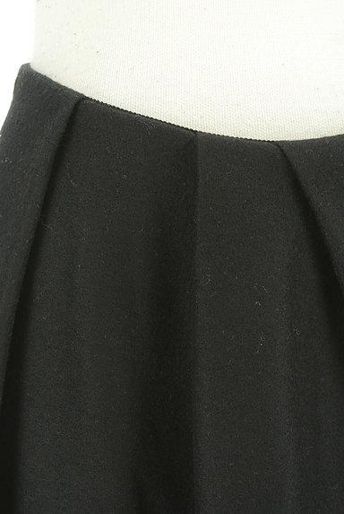STRAWBERRY-FIELDS(ストロベリーフィールズ)の古着「シンプルタックフレアスカート(スカート)」大画像4へ