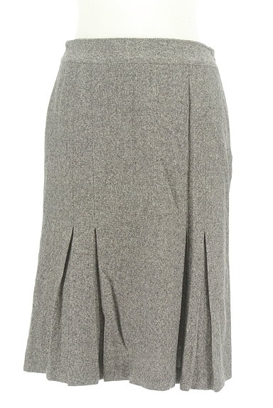 STRAWBERRY-FIELDS(ストロベリーフィールズ)の古着「裾プリーツマーメイドスカート(スカート)」大画像1へ