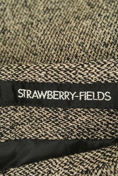 STRAWBERRY-FIELDS(ストロベリーフィールズ)の古着「タックレース裾マーメイドスカート(スカート)」大画像6へ