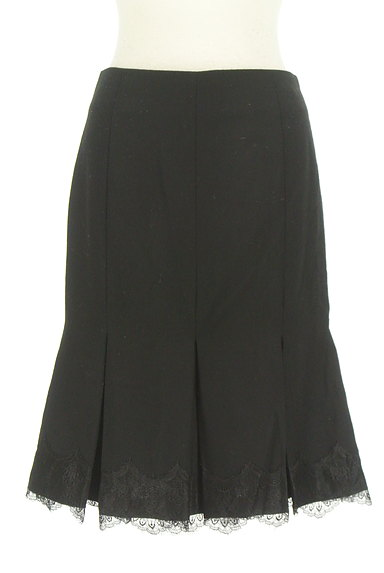 STRAWBERRY-FIELDS(ストロベリーフィールズ)の古着「裾タックレースマーメイドスカート(スカート)」大画像1へ