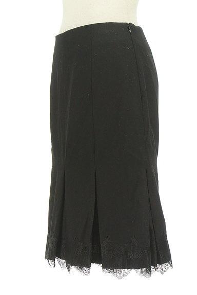 STRAWBERRY-FIELDS(ストロベリーフィールズ)の古着「裾タックレースマーメイドスカート(スカート)」大画像3へ