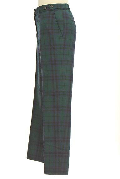 KEITH(キース)の古着「チェック柄センタープレスパンツ(パンツ)」大画像3へ