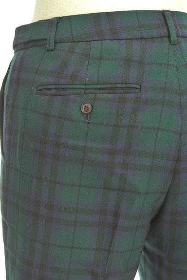 KEITH(キース)の古着「チェック柄センタープレスパンツ(パンツ)」大画像5へ