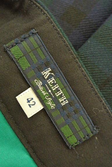 KEITH(キース)の古着「チェック柄センタープレスパンツ(パンツ)」大画像6へ