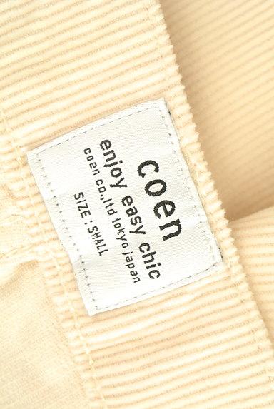 coen(コーエン)の古着「コーデュロイタックパンツ(パンツ)」大画像6へ