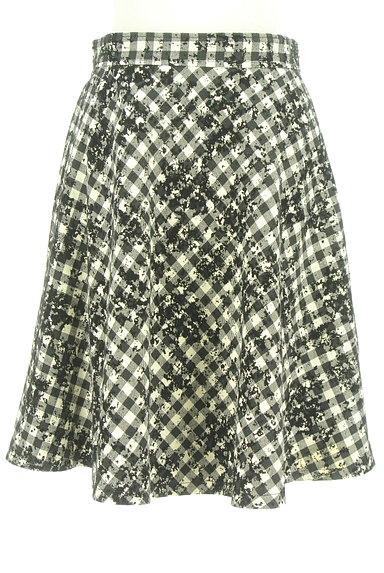 JUSGLITTY(ジャスグリッティー)の古着「チェック柄フロッキースカート(スカート)」大画像1へ