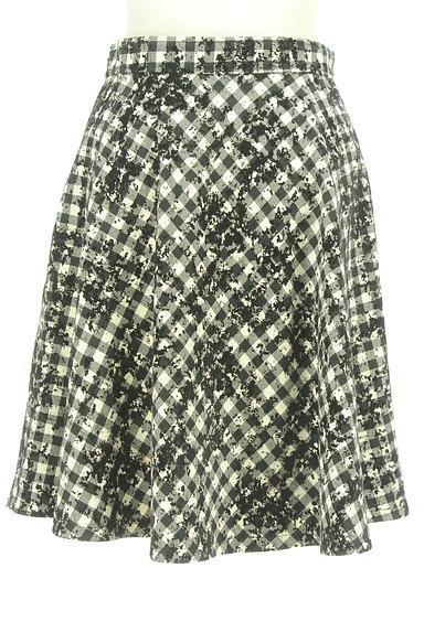 JUSGLITTY(ジャスグリッティー)の古着「チェック柄フロッキースカート(スカート)」大画像2へ