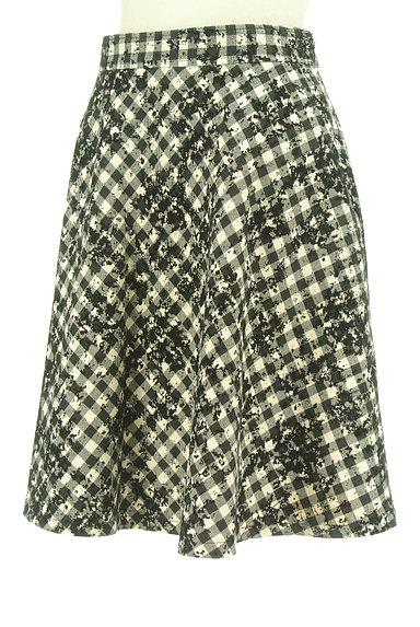 JUSGLITTY(ジャスグリッティー)の古着「チェック柄フロッキースカート(スカート)」大画像3へ