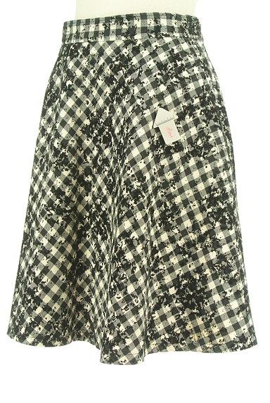 JUSGLITTY(ジャスグリッティー)の古着「チェック柄フロッキースカート(スカート)」大画像4へ