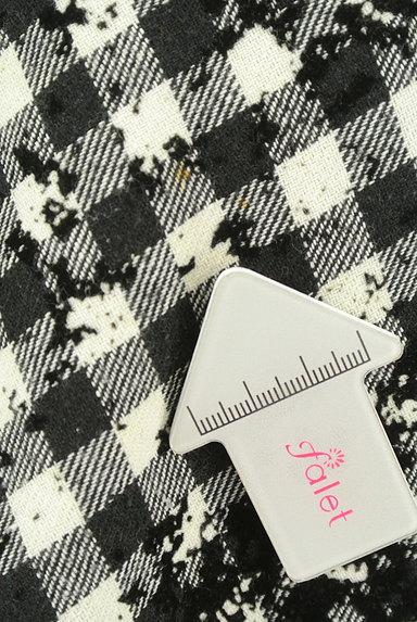 JUSGLITTY(ジャスグリッティー)の古着「チェック柄フロッキースカート(スカート)」大画像5へ