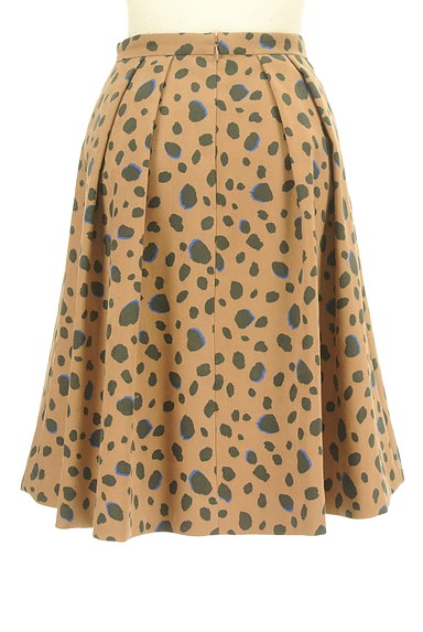 Apuweiser riche(アプワイザーリッシェ)の古着「レオパード柄フレアスカート(スカート)」大画像2へ